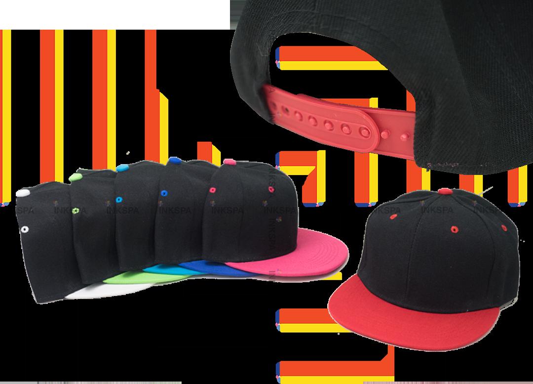 หมวกฮิปฮอป หมวกทูโทน หมวกสำหรับสกรีน หมวกฮิปฮอปสำหรับสกรีน หมวกฮิปฮอปทูโทน หมวกแฟชั่น