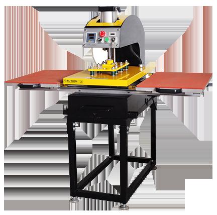 เครื่องสกรีน เครื่องสกรีน2ถาด เครื่องสกรีนรีดร้อน Heat Tranfer Machine เครื่องรีดร้อน Heat Press
