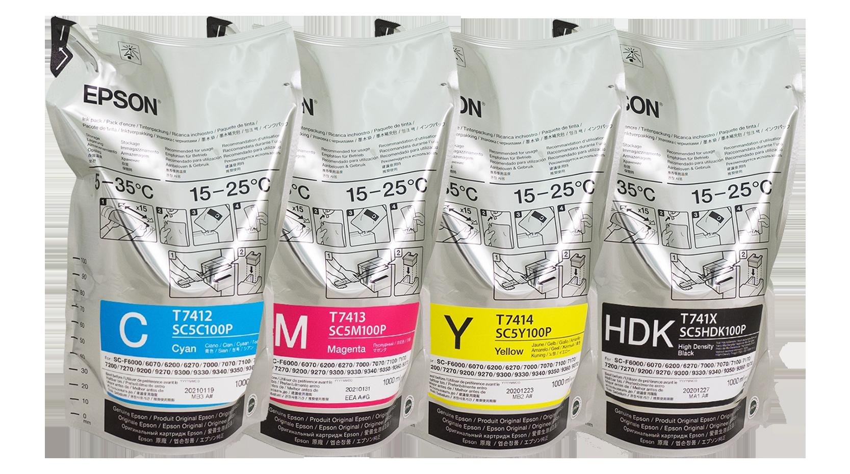 หมึก Epson หมึกซับลิเมชั่น Epson original sublimation ink หมึกเอปสันซับลิเมชั่น