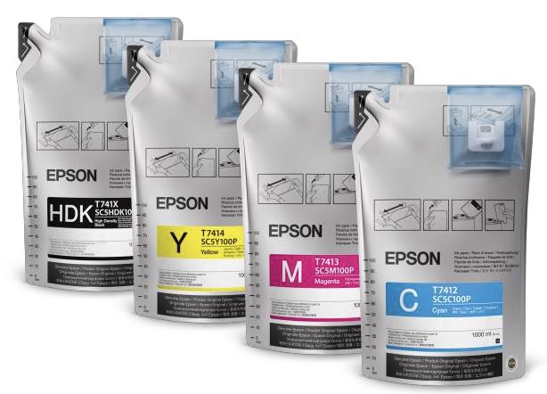 เครื่องพิมพ์เอปสัน, epson sublimation, ซับลิเมชั่นปริ้นเตอร์, เอปสัน เอฟ6330, SC5M100P, T741X, T7412, T7413, T7414