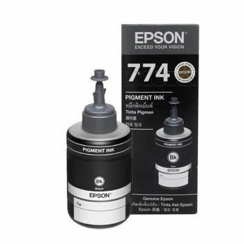 หมึกแท้ T774 สีดำ ,เครื่องพิมพ์ EPSON,หมึกแท้, EPSON M
