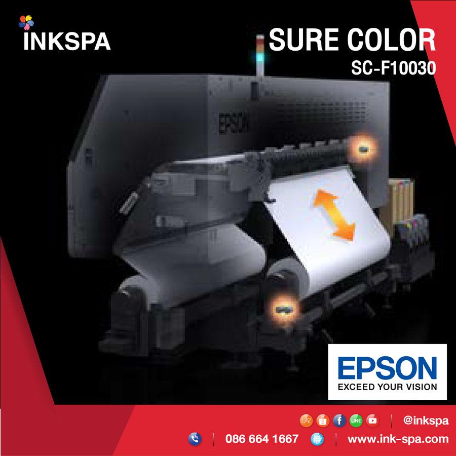 เครื่องพิมพ์เสื้อ เครื่องพิมพ์ผ้า เครื่องปริ้นเสื้อ epson f10030 เครื่องพิมพ์ซับ